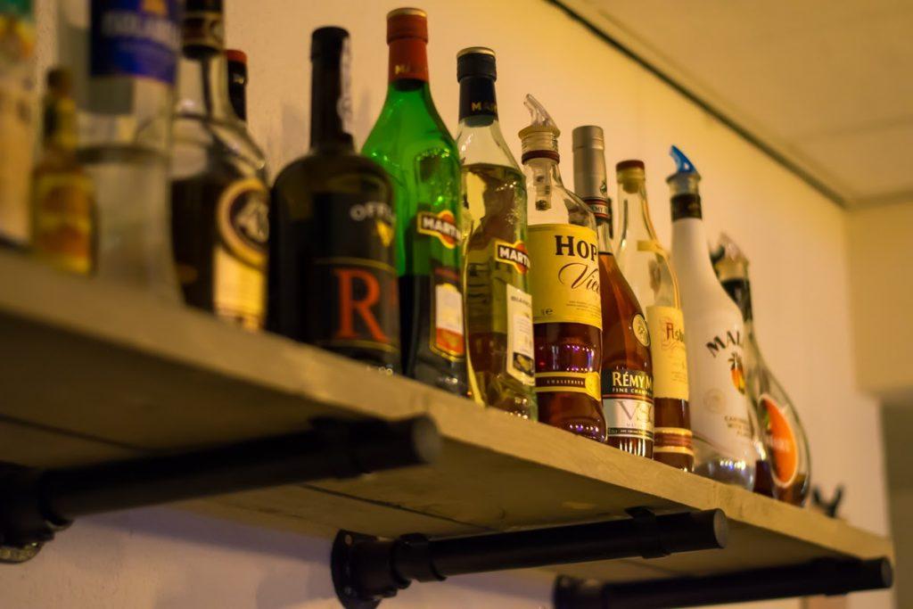 Een lekker drankje bij Restaurant De Babbelaar Oostkapelle